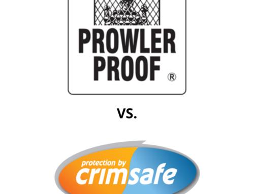 Crimsafe vs Prowler Proof