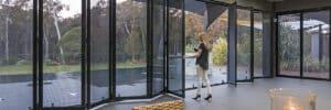 Crimsafe patio enclosure